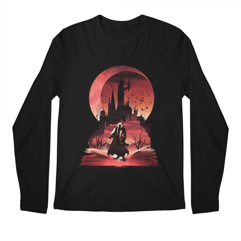 Book of Dracula Men's Longsleeve T-Shirt by dandingeroz's Artist Shop