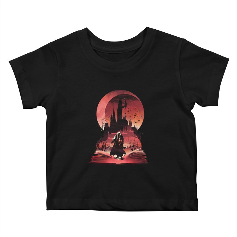 Book of Dracula Kids Baby T-Shirt by dandingeroz's Artist Shop