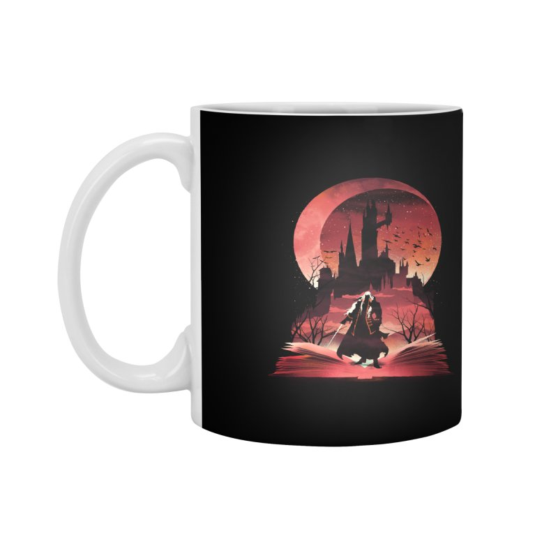 Book of Dracula Accessories Mug by dandingeroz's Artist Shop