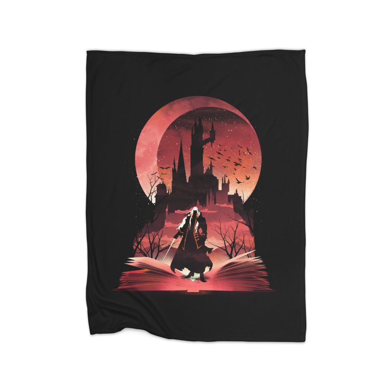 Book of Dracula Home Blanket by dandingeroz's Artist Shop