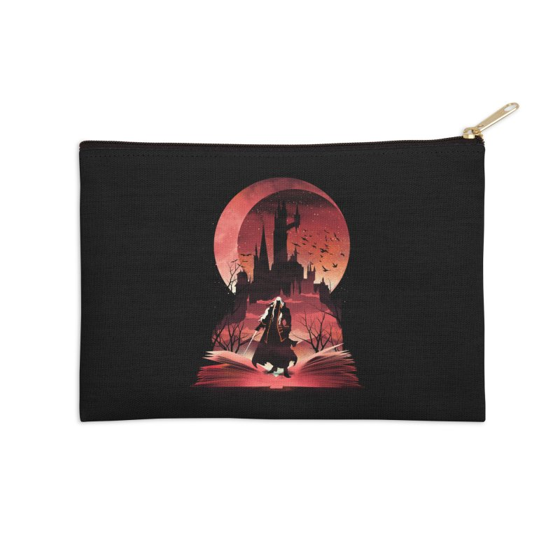 Book of Dracula Accessories Zip Pouch by dandingeroz's Artist Shop