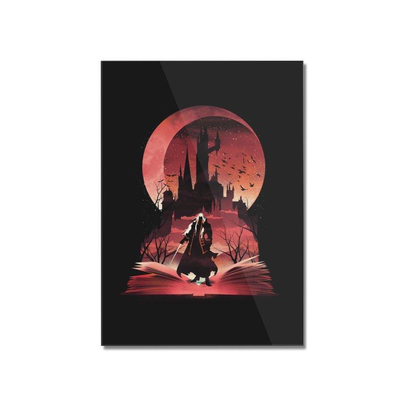 Book of Dracula Home Mounted Acrylic Print by dandingeroz's Artist Shop