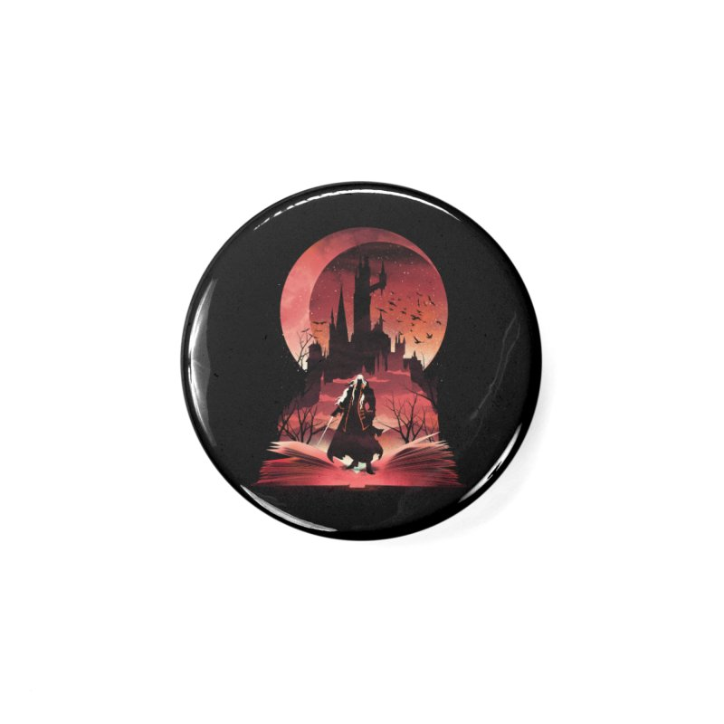 Book of Dracula Accessories Button by dandingeroz's Artist Shop