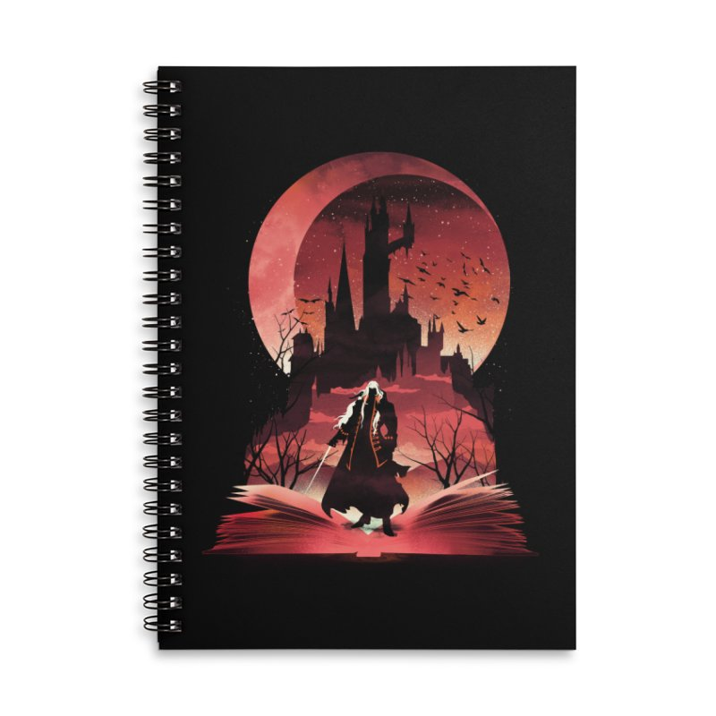 Book of Dracula Accessories Notebook by dandingeroz's Artist Shop