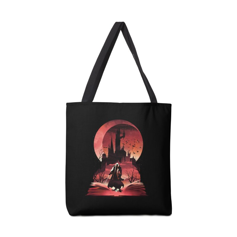 Book of Dracula Accessories Bag by dandingeroz's Artist Shop