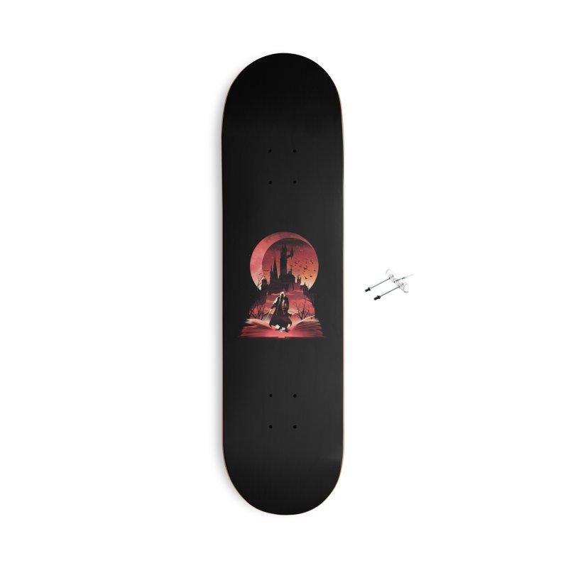 Book of Dracula Accessories Skateboard by dandingeroz's Artist Shop