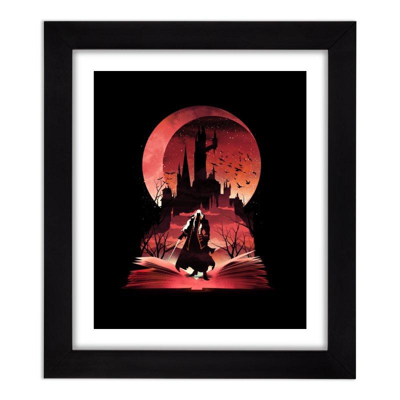 Book of Dracula Home Framed Fine Art Print by dandingeroz's Artist Shop