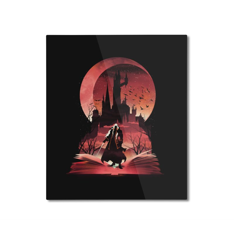 Book of Dracula Home Mounted Aluminum Print by dandingeroz's Artist Shop