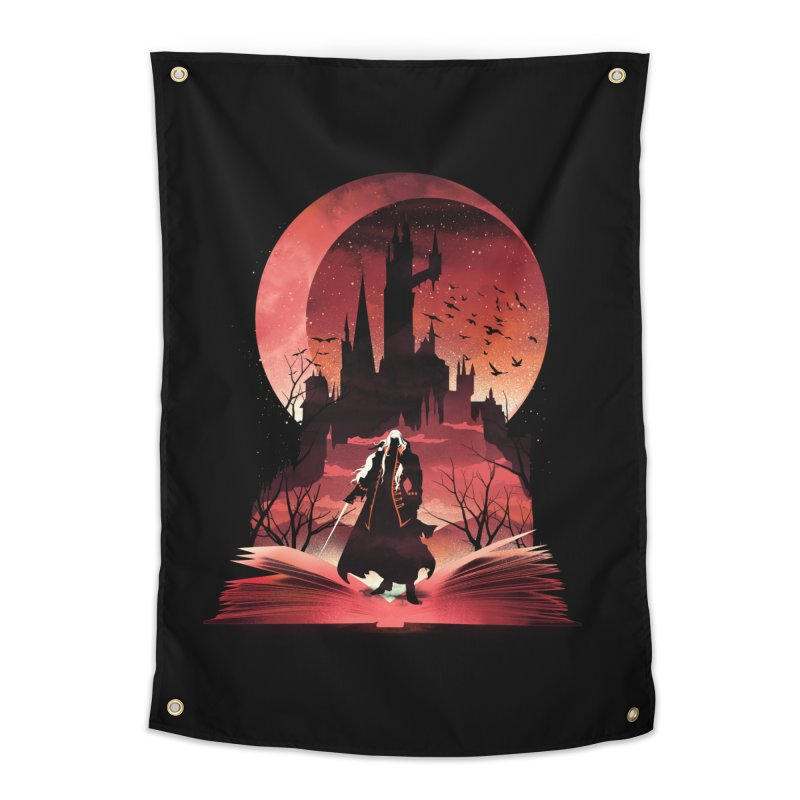 Book of Dracula Home Tapestry by dandingeroz's Artist Shop