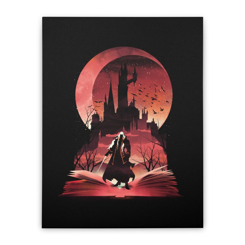 Book of Dracula Home Stretched Canvas by dandingeroz's Artist Shop