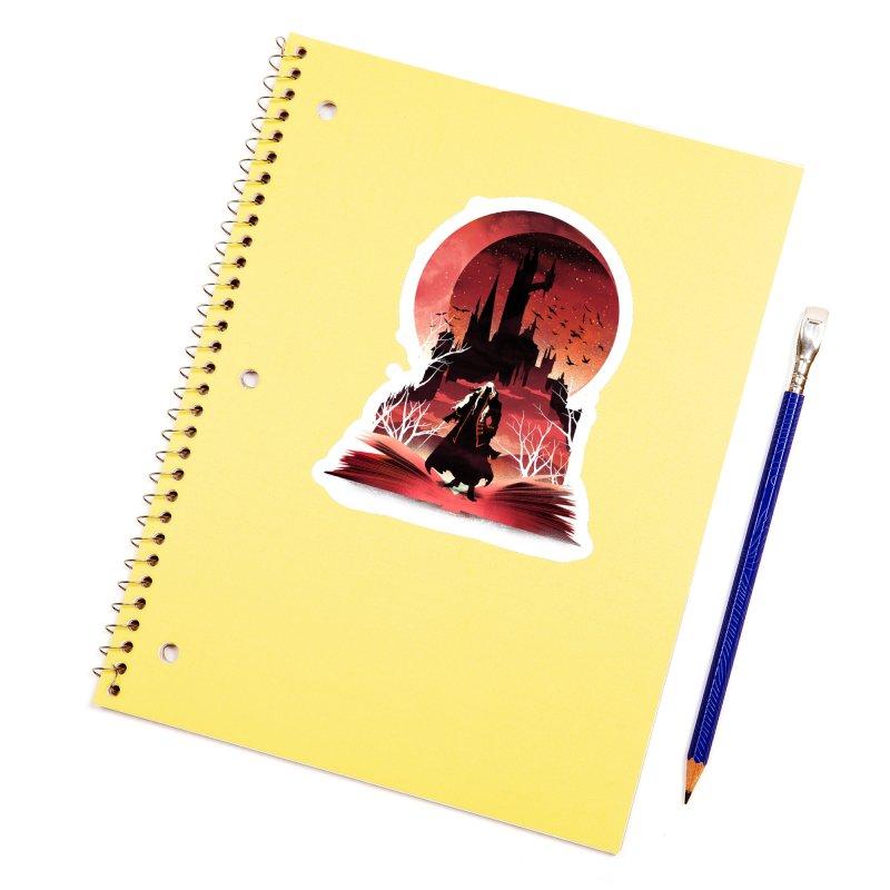 Book of Dracula Accessories Sticker by dandingeroz's Artist Shop
