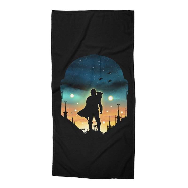This is the way Accessories Beach Towel by dandingeroz's Artist Shop