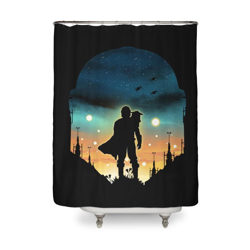 This is the way Home Shower Curtain by dandingeroz's Artist Shop