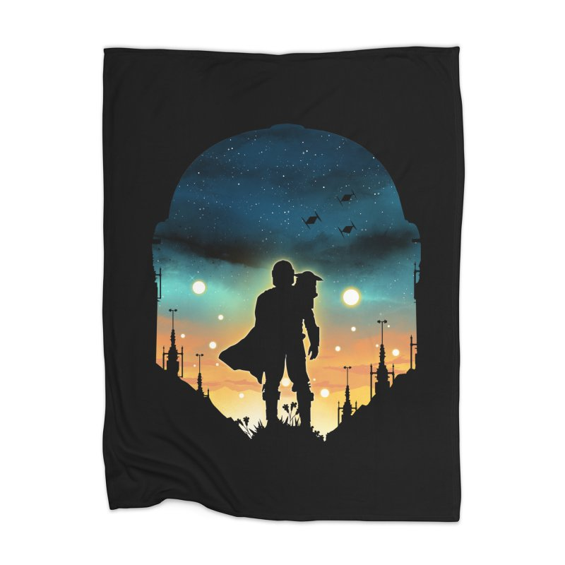 This is the way Home Blanket by dandingeroz's Artist Shop