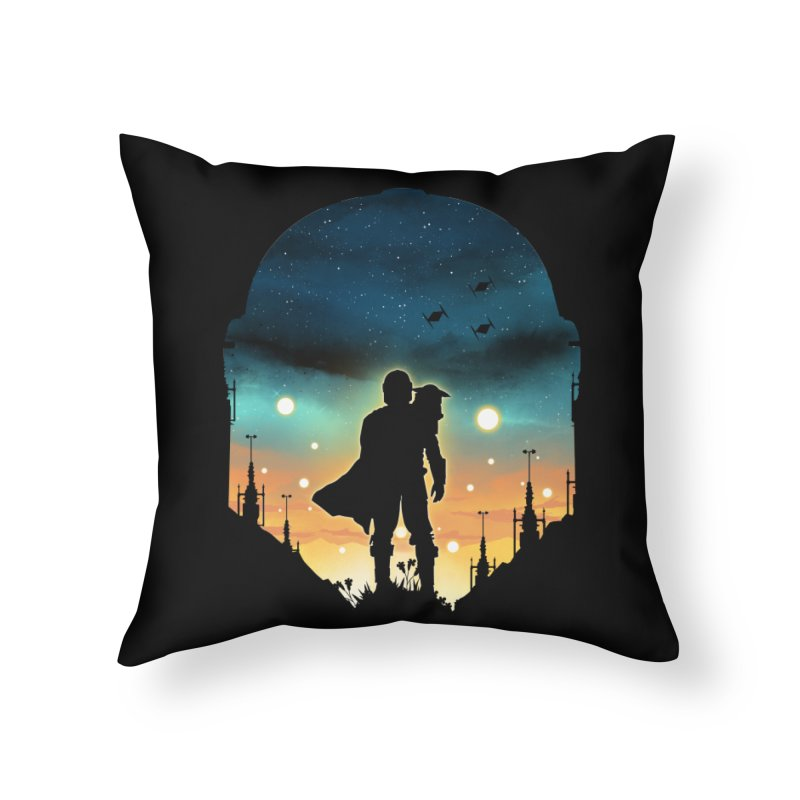 This is the way Home Throw Pillow by dandingeroz's Artist Shop