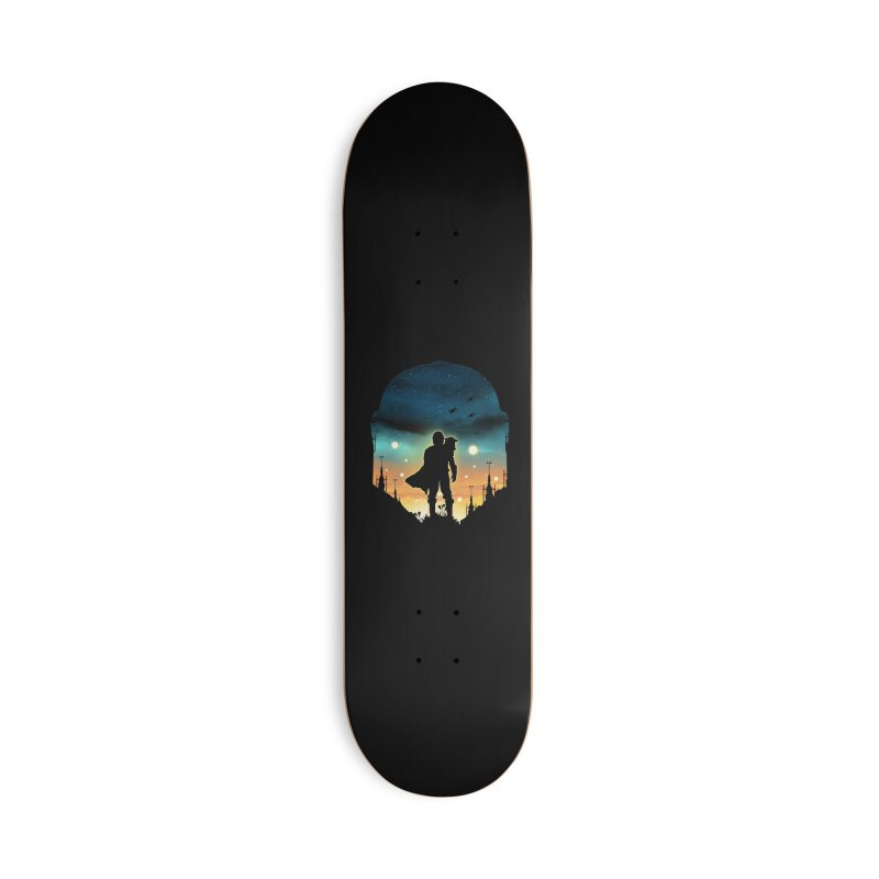 This is the way Accessories Skateboard by dandingeroz's Artist Shop