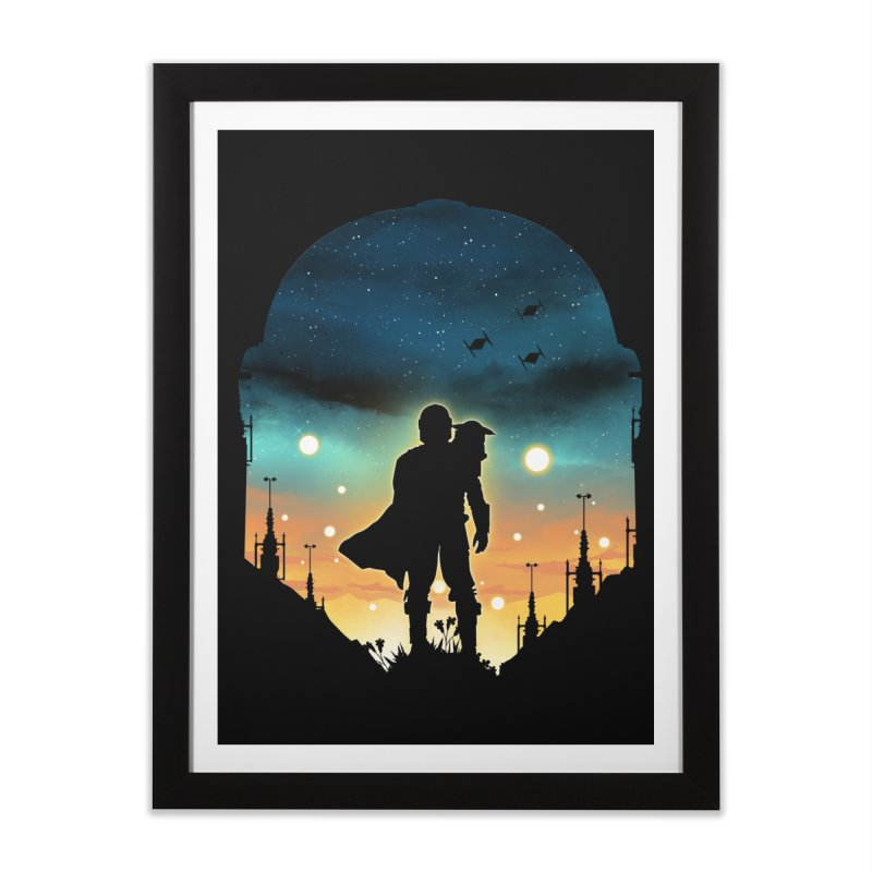This is the way Home Framed Fine Art Print by dandingeroz's Artist Shop