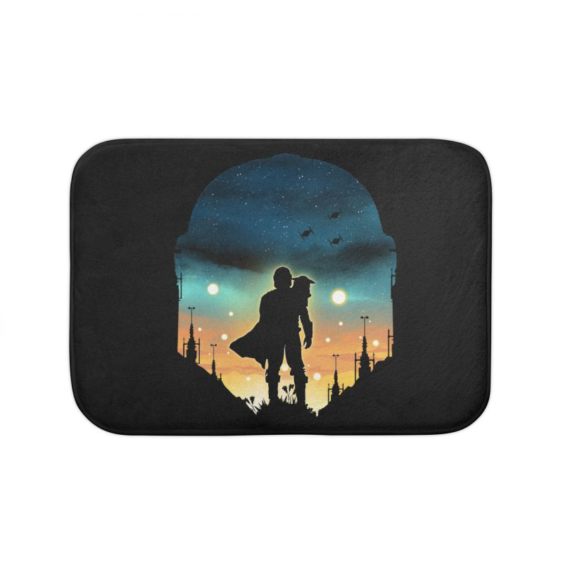 This is the way Home Bath Mat by dandingeroz's Artist Shop