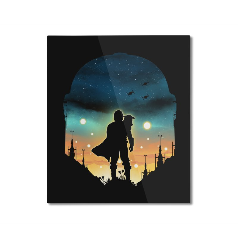 This is the way Home Mounted Aluminum Print by dandingeroz's Artist Shop