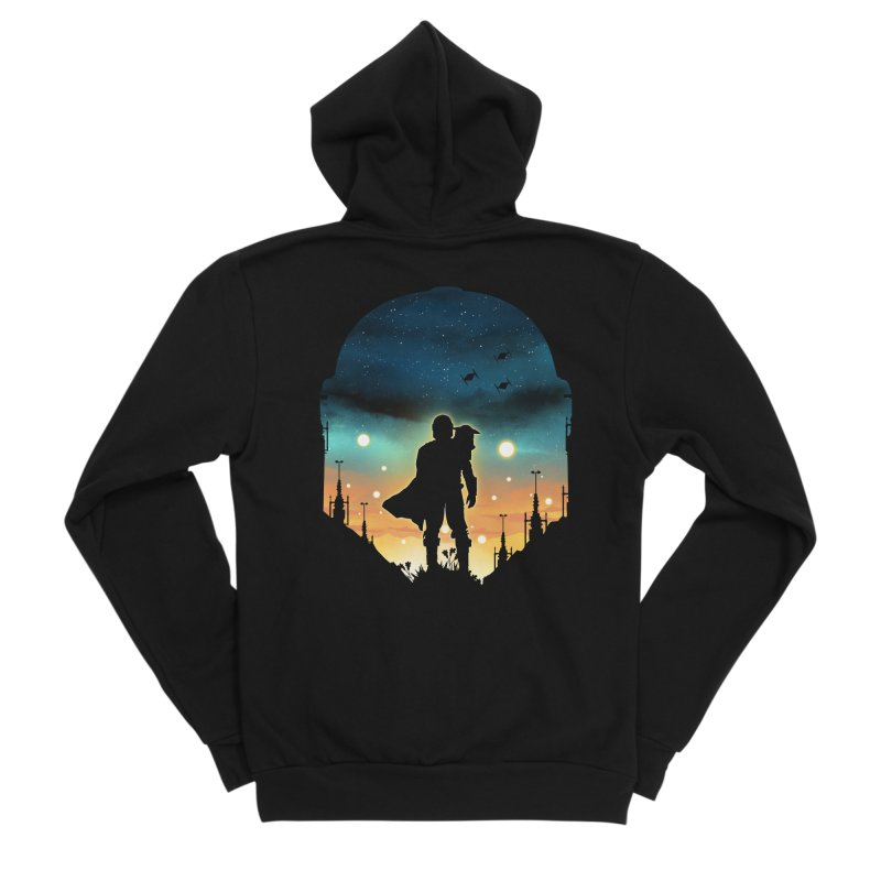 This is the way Men's Zip-Up Hoody by dandingeroz's Artist Shop