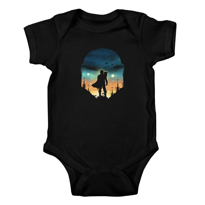 This is the way Kids Baby Bodysuit by dandingeroz's Artist Shop