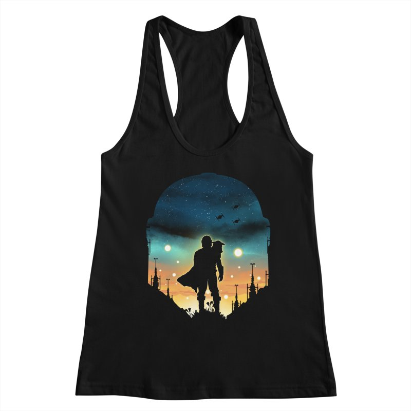 This is the way Women's Tank by dandingeroz's Artist Shop