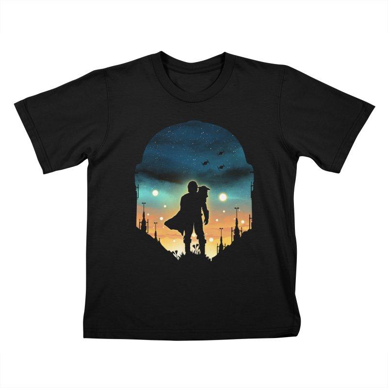 This is the way Kids T-Shirt by dandingeroz's Artist Shop