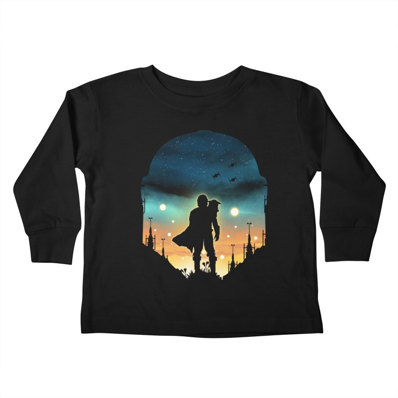 This is the way Kids Toddler Longsleeve T-Shirt by dandingeroz's Artist Shop