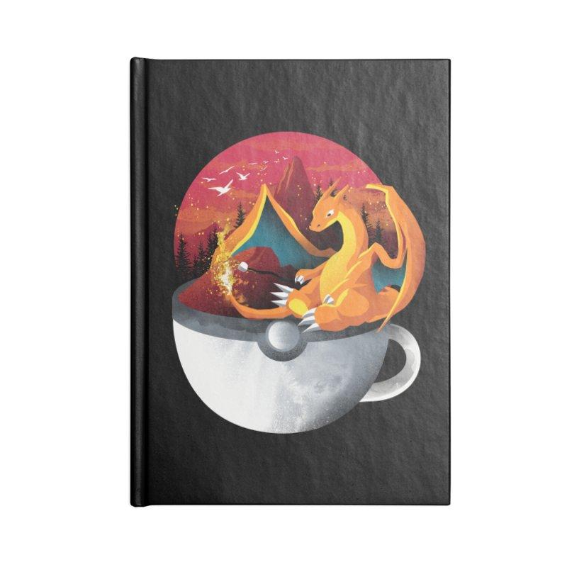 Coffeemon Fire Accessories Notebook by dandingeroz's Artist Shop