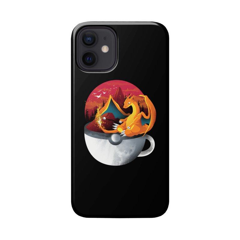 Coffeemon Fire Accessories Phone Case by dandingeroz's Artist Shop
