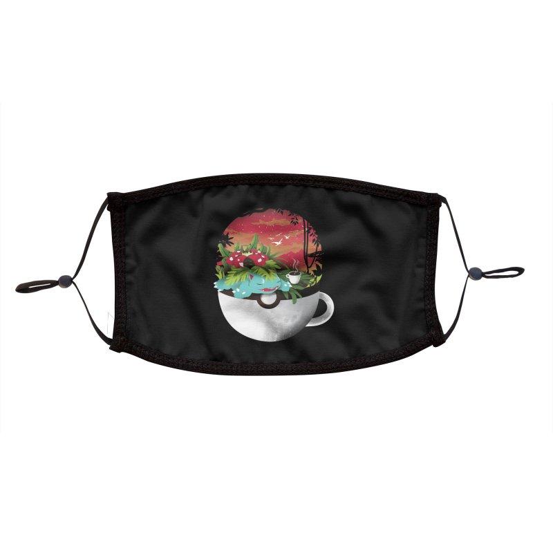 Coffeemon Grass Accessories Face Mask by dandingeroz's Artist Shop