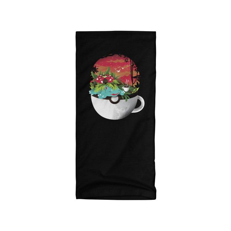 Coffeemon Grass Accessories Neck Gaiter by dandingeroz's Artist Shop