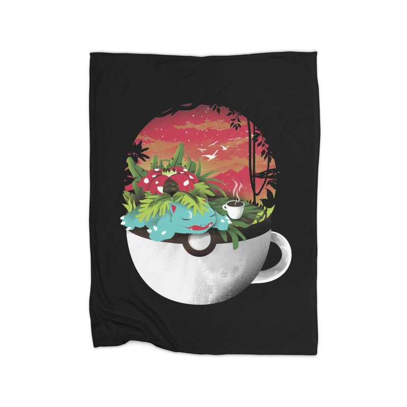 Coffeemon Grass Home Blanket by dandingeroz's Artist Shop