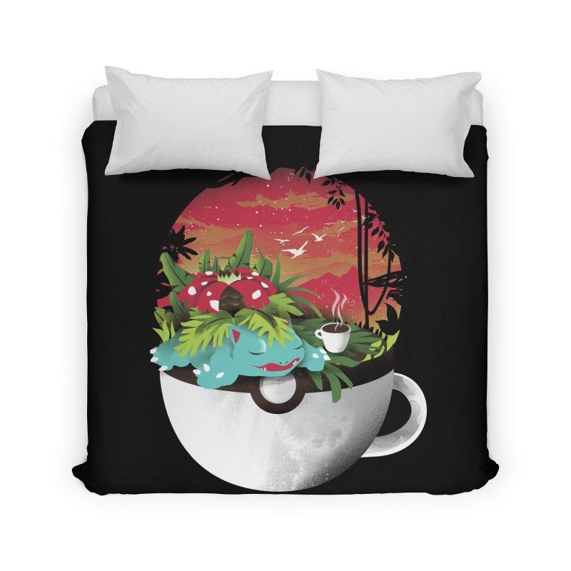 Coffeemon Grass Home Duvet by dandingeroz's Artist Shop