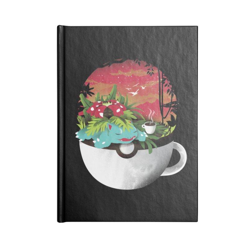 Coffeemon Grass Accessories Notebook by dandingeroz's Artist Shop