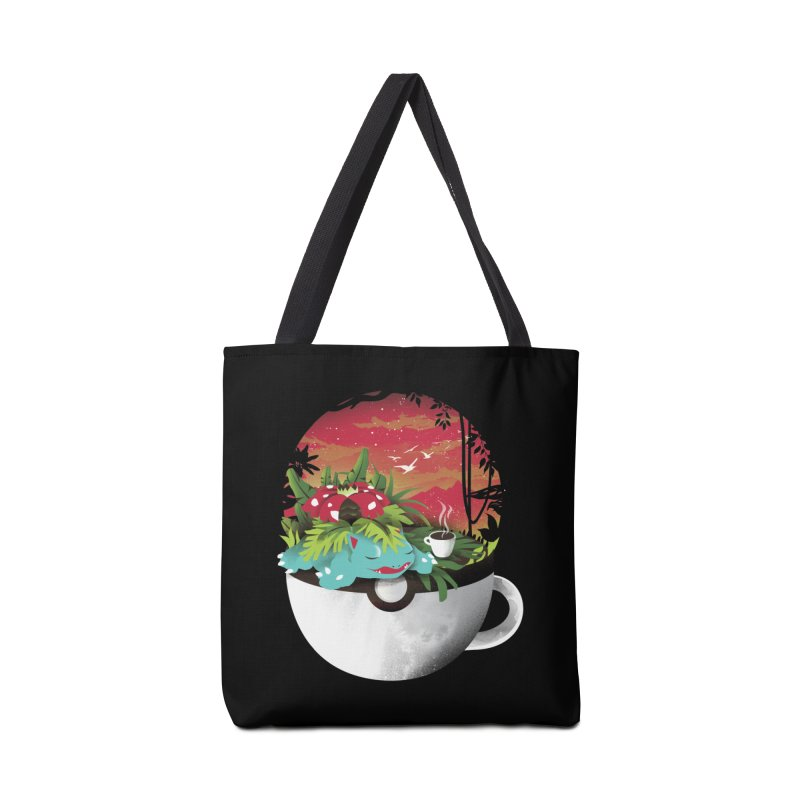 Coffeemon Grass Accessories Bag by dandingeroz's Artist Shop