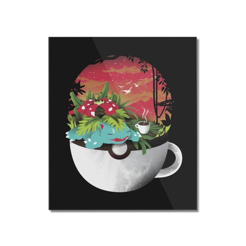Coffeemon Grass Home Mounted Acrylic Print by dandingeroz's Artist Shop