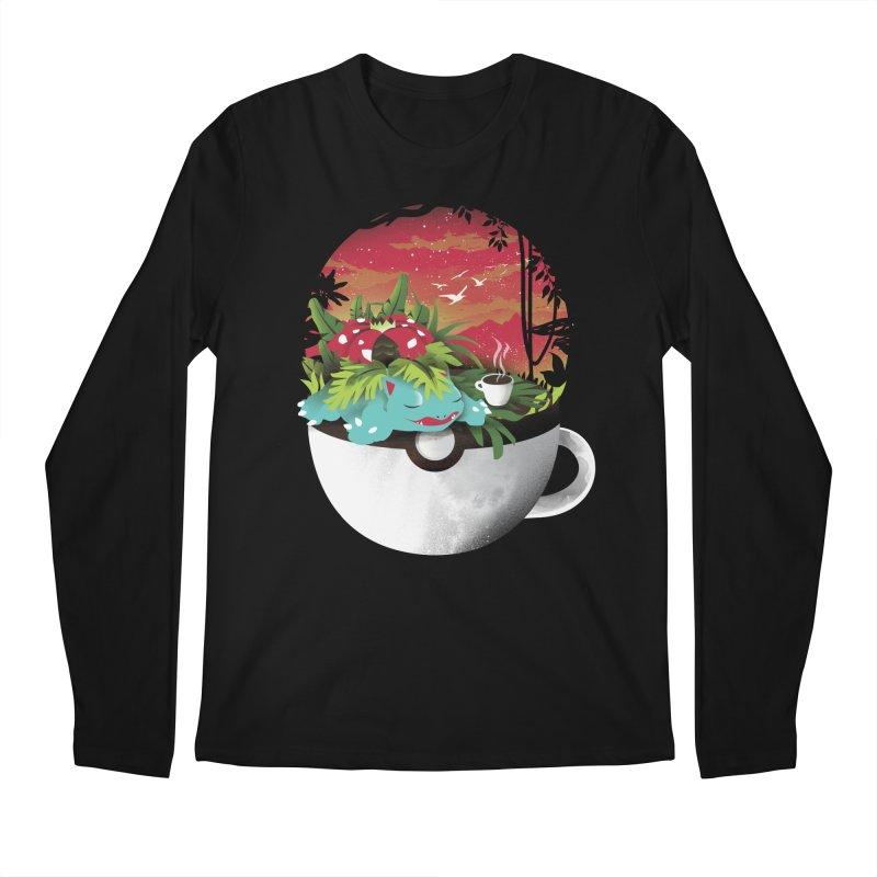 Coffeemon Grass Men's Longsleeve T-Shirt by dandingeroz's Artist Shop