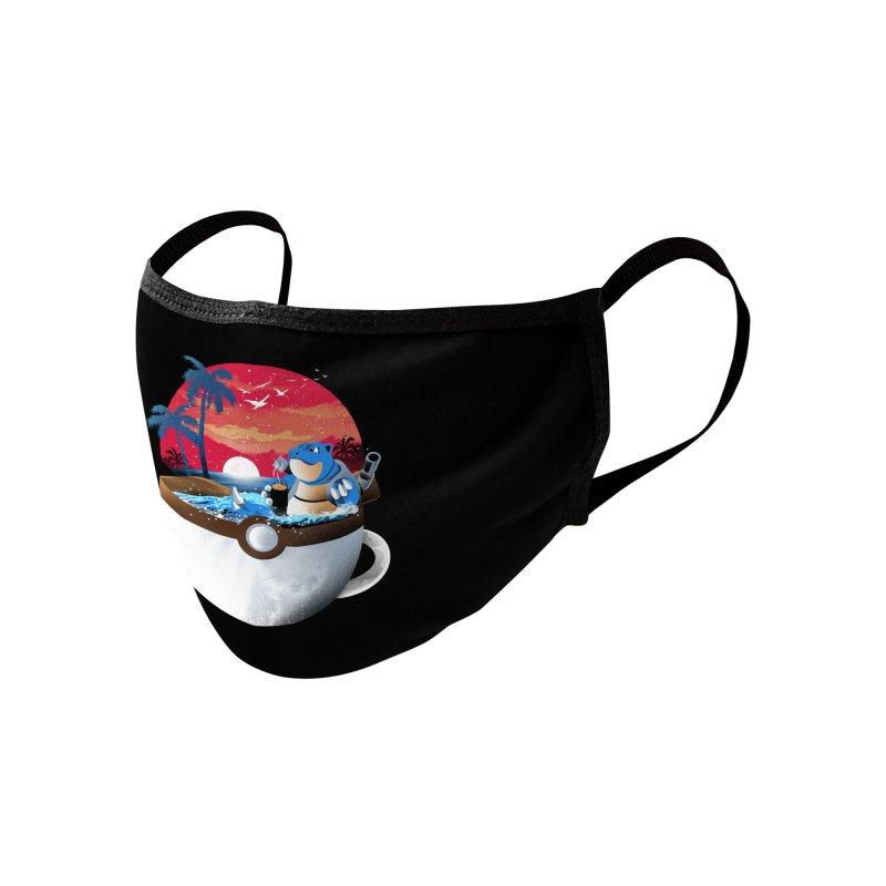 Coffeemon Water Accessories Face Mask by dandingeroz's Artist Shop