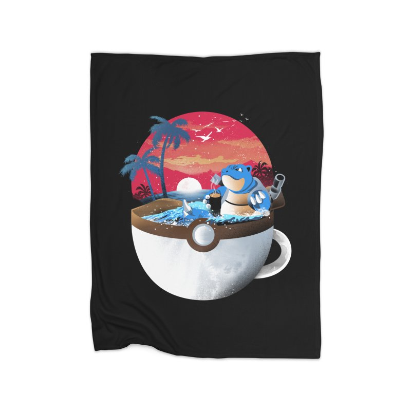 Coffeemon Water Home Blanket by dandingeroz's Artist Shop