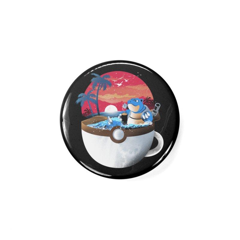 Coffeemon Water Accessories Button by dandingeroz's Artist Shop