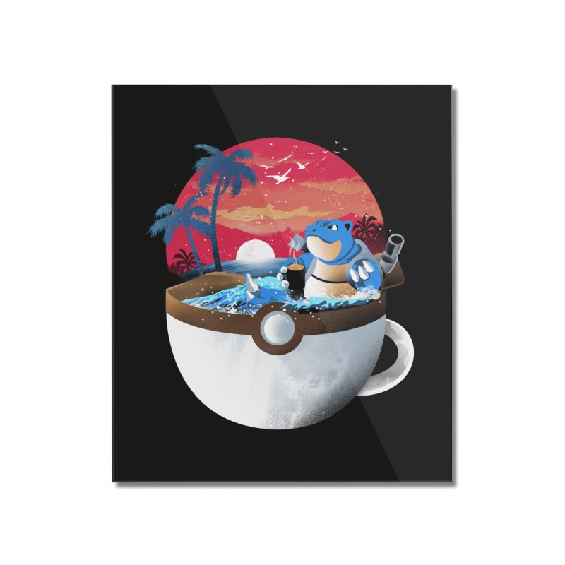 Coffeemon Water Home Mounted Acrylic Print by dandingeroz's Artist Shop