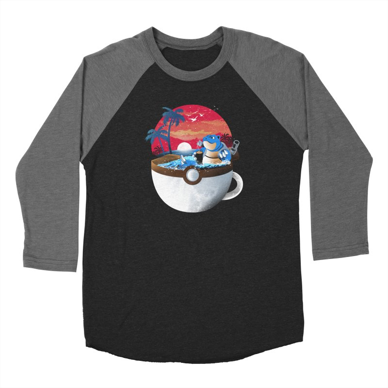 Coffeemon Water Women's Longsleeve T-Shirt by dandingeroz's Artist Shop