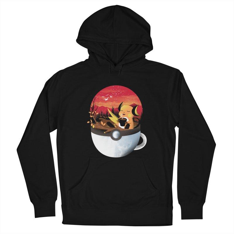 Coffeemon Thunder Women's Pullover Hoody by dandingeroz's Artist Shop