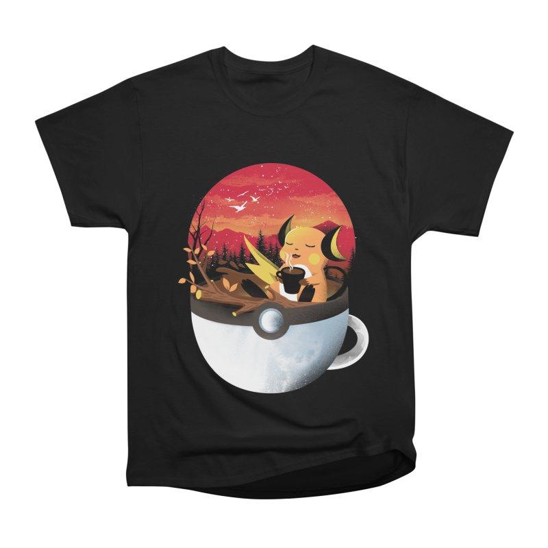 Coffeemon Thunder Women's T-Shirt by dandingeroz's Artist Shop