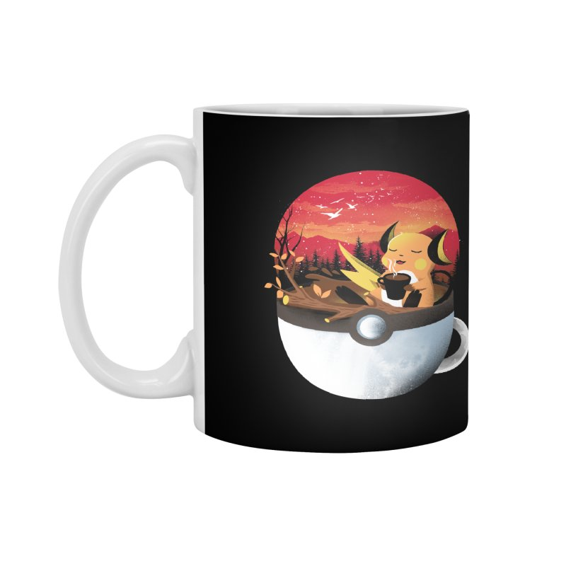 Coffeemon Thunder Accessories Mug by dandingeroz's Artist Shop
