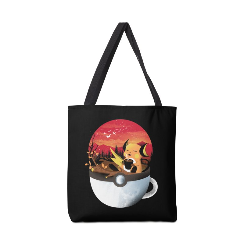 Coffeemon Thunder Accessories Bag by dandingeroz's Artist Shop