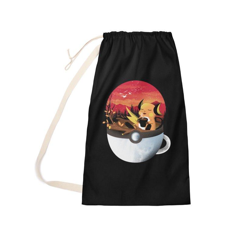 Coffeemon Thunder Accessories Bag by dandingeroz's Artist Shop