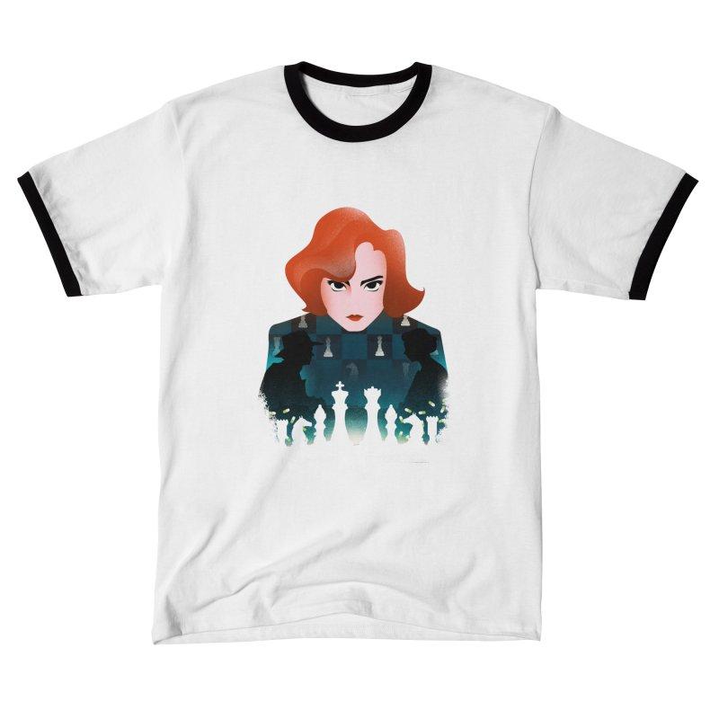 The Queen's Gambit Men's T-Shirt by dandingeroz's Artist Shop