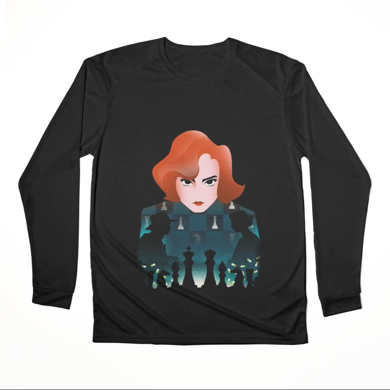 The Queen's Gambit Women's Longsleeve T-Shirt by dandingeroz's Artist Shop